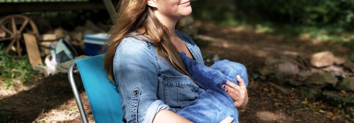 Femme allaitante